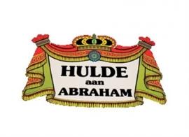 """Kroonschild """"Hulde aan Abraham"""" (DKW 029-009)"""
