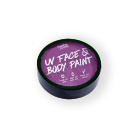 UV face&body cake paint purple (18g) (004-304)
