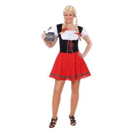 Tiroler meisje volwassen maat (DKW 013-264)
