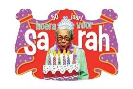 """Kroonschild """"Hoera voor Sarah"""" (DKW 029-010)"""