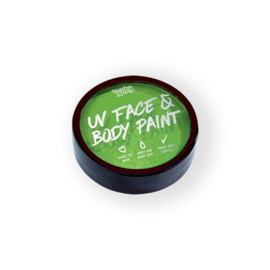 UV face&body cake paint green (18g) (004-301)