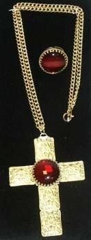 Sint Kruis met ketting en luxe ring (DKM 009-22)