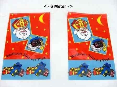 Vlaggenlijn 6 meter Sint en Piet OP=OP (DKE 023-004)