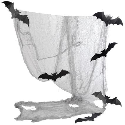 Doek met 6 vleermuizen (023-025)