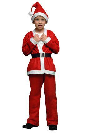 Kerstman kind 10-12 jaar (024-025)