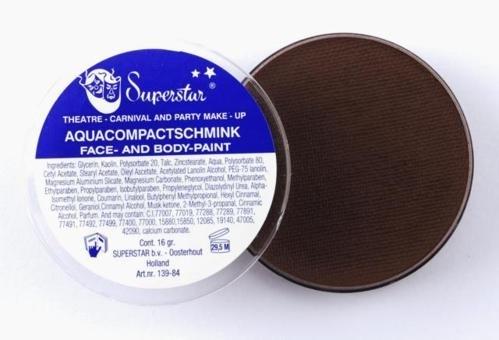 025 Dark brown doosje 16 gram (DKW 001-025)