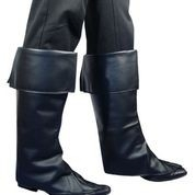 Beenkappen zwart (DKW 024-017)
