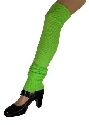Beenwarmers overknee fluor Groen (DKW 025-017)