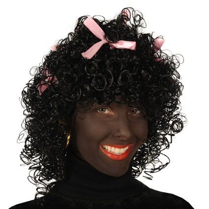 Zwarte Piet haarwerk