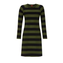 Ringella Nachthemd Groen/Zwart