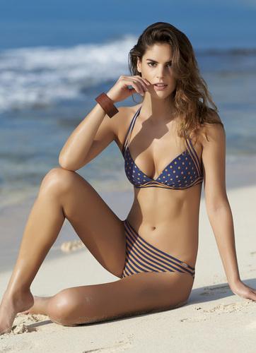 Sunflair bikini  Copper Dots met softcups 38B