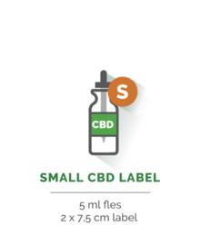 Small CBD Label - Vanaf 35 stuks