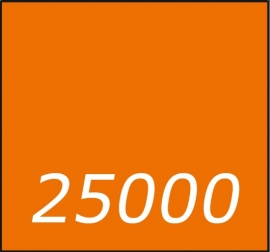 25000 X Vierkant 21x21cm  dubbelzijdig full colour 135gr.