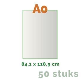 Posters Grote oplage - A0 84 x 118,8 cm - 4/0 enkelzijdig full colour - 170 grams - 50 stuks