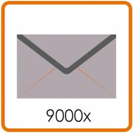 9000 X Envelop C5 16.2X22.9cm enkelzijdig full colour