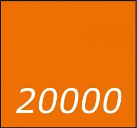 20000 X Vierkant 21x21cm  dubbelzijdig full colour 135gr.