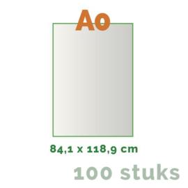 Posters Grote oplage - A0 84 x 118,8 cm - 4/0 enkelzijdig full colour - 170 grams - 100 stuks