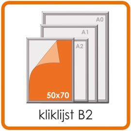 Kliklijst B2 - 50 X 70cm