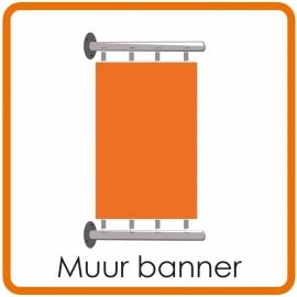 Muur banner