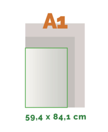 A1 Stickers outdoor (59,4 x 84 cm)