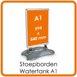 Stoepborden Watertank A1 - met of zonder posters