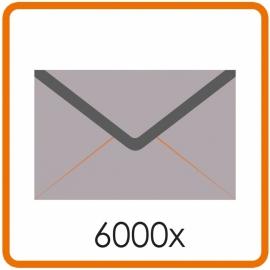 6000 X Envelop C5 16.2X22.9cm enkelzijdig full colour