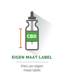CBD Label -  Eigen maat