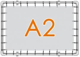 Banner spandoek A2 - 42,0 cm x 59,4 cm - 4/0 enkelzijdig full colour