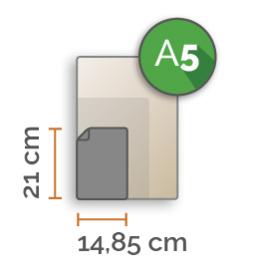 Outdoor Premium stickers, A5 (14,8 x 21 cm) , full colour, enkelzijdig bedrukt
