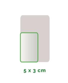 Outdoor Premium stickers, Formaat 5x3 cm  , full colour, enkelzijdig bedrukt