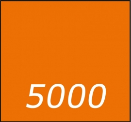 5000 X Vierkant 21 x 21cm  dubbelzijdig full colour 135gr.