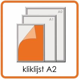 Kliklijst A2 - 42 X 59,4cm