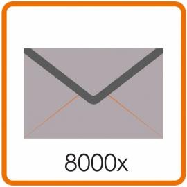 8000 X Envelop C5 16.2X22.9cm enkelzijdig full colour
