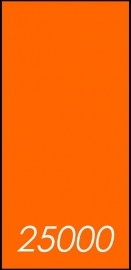 25000 X A5 Lang 10.5x29.7cm dubbelzijdig full colour 135gr.