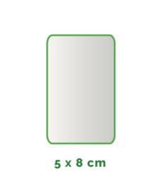 Outdoor Premium stickers, Formaat 5x8 cm  , full colour, enkelzijdig bedrukt