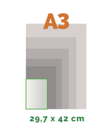 A3 Stickers outdoor (42 x 29,7 cm)