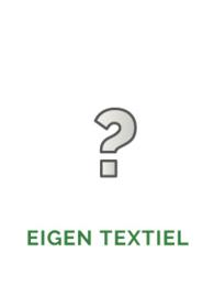 Textiel zelf aanleveren