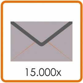 15.000 X Envelop C5 16.2X22.9cm enkelzijdig full colour