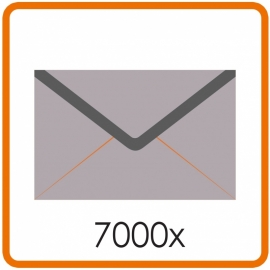 7000 X Envelop C5 16.2X22.9cm enkelzijdig full colour