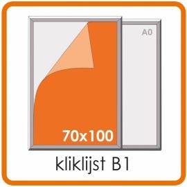 Kliklijst B1 - 70 X 100cm