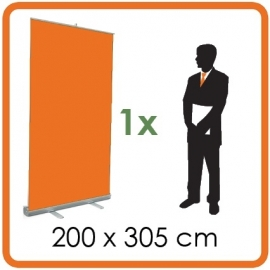 1 X Rollup 200 x 305cm