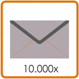 10.000 X Enveloppen 15.5 X 15.5cm enkelzijdig full colour