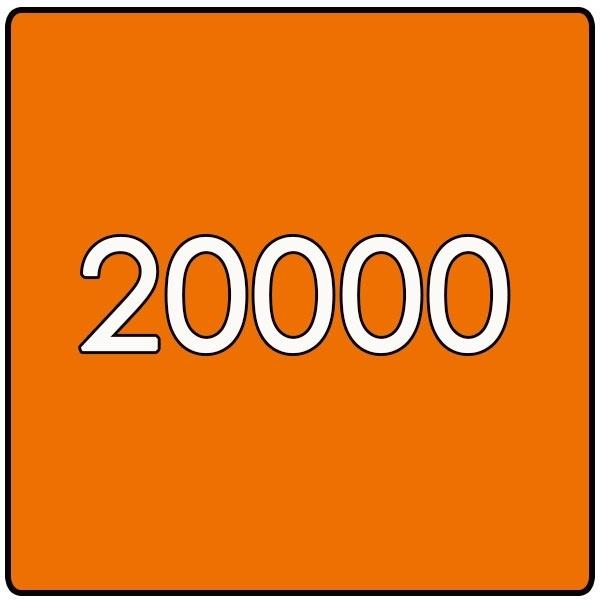 20000X Vierkant 14.8x14.8cm offset dubbelzijdig full colour 170gr. mat