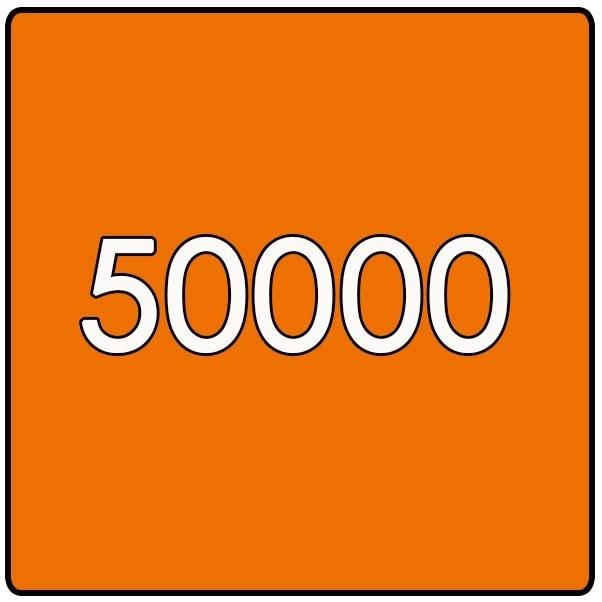 50000 X Vierkant 14.8x14.8cm offset enkelzijdig full colour 135gr. mat