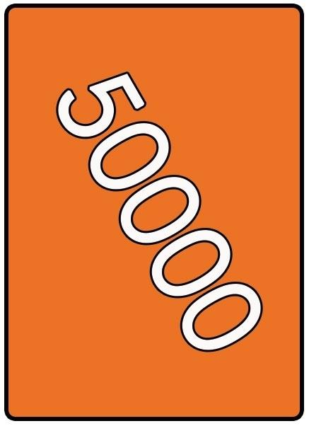 50000 X A3 42x29.7cm offset enkelzijdig full colour 170gr. glans