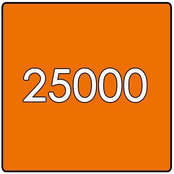 25000 X Vierkant 14.8x14.8cm offset enkelzijdig full colour 135gr. glans