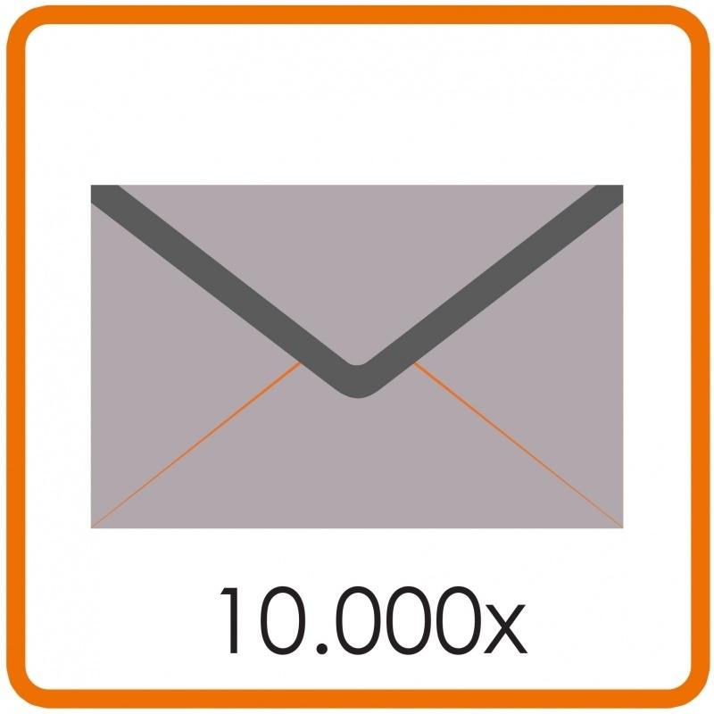 10.000 X Envelop C5 16.2X22.9cm enkelzijdig full colour