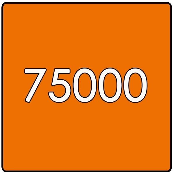 75000 X Vierkant 14.8x14.8cm offset enkelzijdig full colour 135gr. glans