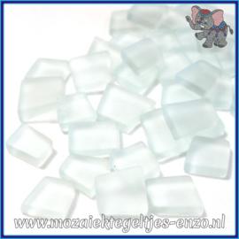 Glasmozaiek steentjes - Transparant Glass Puzzles Normaal - Enkele Kleuren - per 50 gram - A Capella Clear