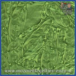 Plaatglas - Van Gogh Glass Normaal - 5 x 10 cm - Enkele Kleuren - per 1 stuk - Spring Green